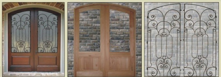 Foret doors 100 solid wood front entry doors for High end french doors