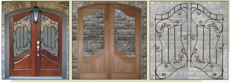 Foret doors 100 solid wood front entry doors for High end front doors