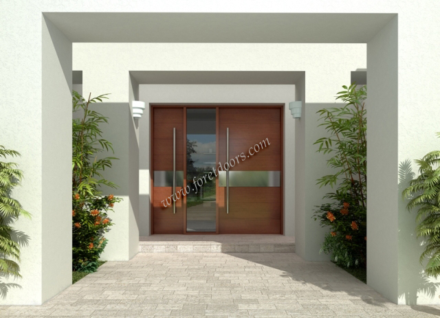 Gallery Of Contemporary Modern Wood Front Entry Doors By