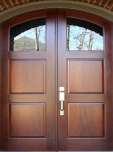 Foret Doors Solid Wood Front Entry Doors