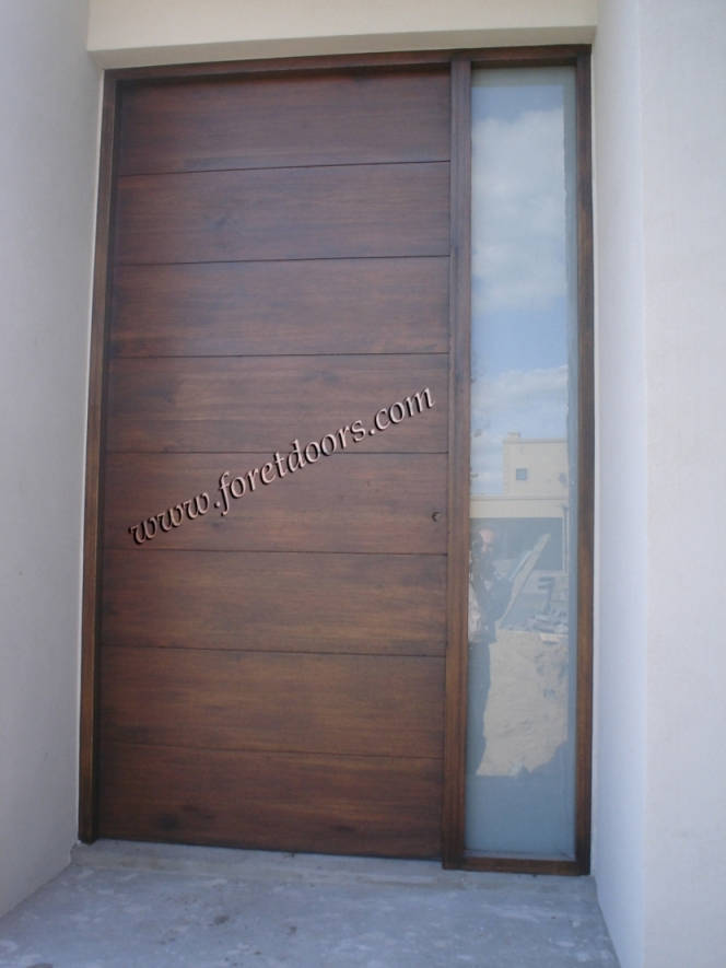 More modern wood exterior doors by Foret Doors - contemporary ...