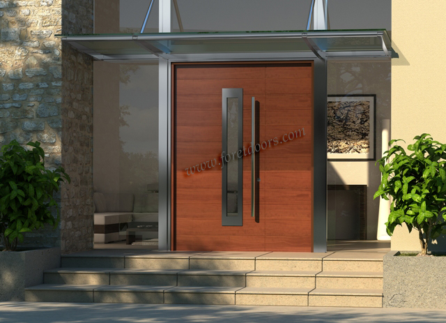 Gallery of contemporary modern wood front entry doors by for Modern front doors