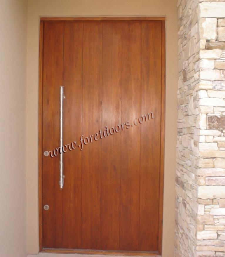 Pics for modern wooden front doors for Como hacer una puerta de madera