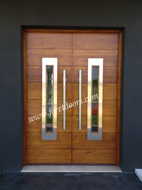 More Modern Wood Exterior Doors By Foret Doors Contemporary Entry