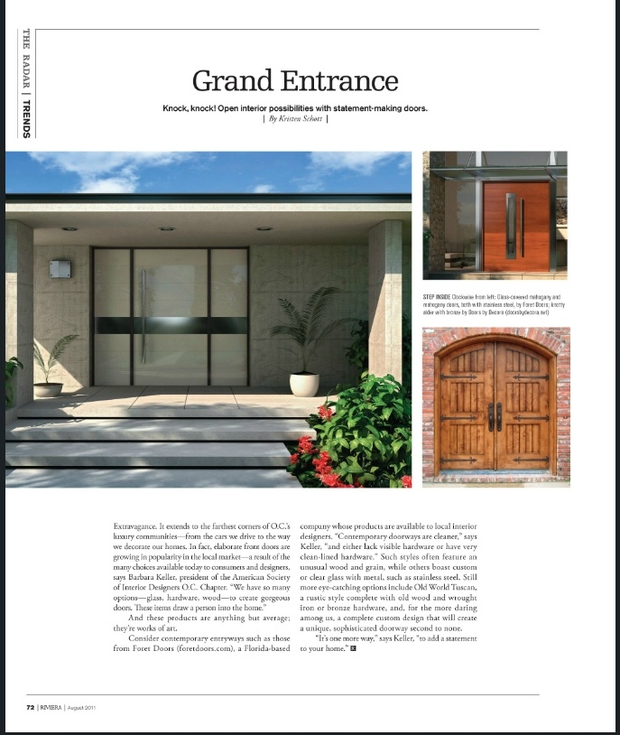 Modern Contemporary European Style Front Entry Doors And Modern