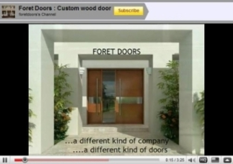 Modern Door on Modern Contemporary European Style Doors By Foret Doors   Contemporary